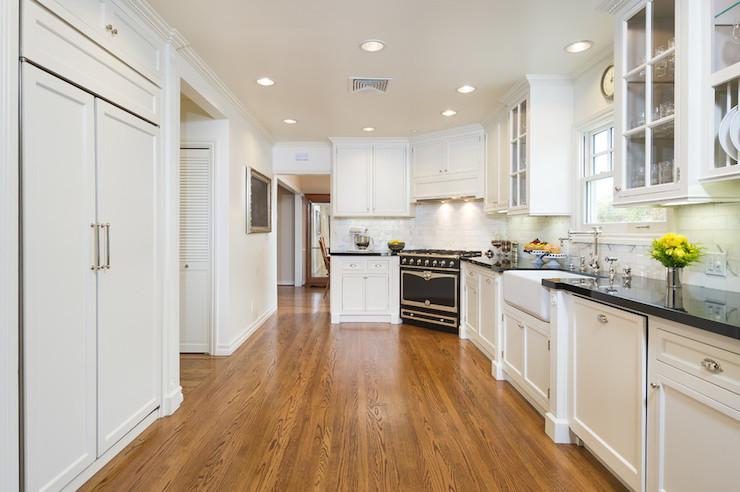 Corner Stove  Transitional  kitchen  M Wright Design