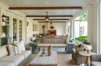 Zinc Dining Table - Transitional - deck/patio - Beth Webb ...