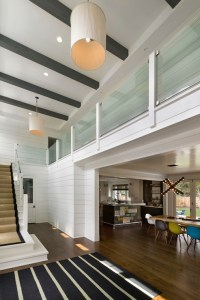 Light Wood Ceiling Beams Design Ideas
