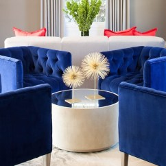 Royal Blue Living Room Chairs Modern Pictures For Contemporary Martha O Hara Interiors
