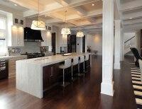 Long Kitchen Islands - Transitional - kitchen - Katie ...