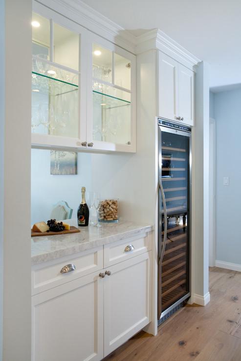 See Through Kitchen Cabinets  Contemporary  kitchen