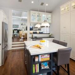 Brushed Nickel Kitchen Hardware Table For Sale Sunken - Transitional Lauren Shadid ...