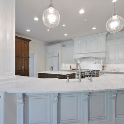 Kitchen Sink Rugs Pine Chairs For Sale Honed Carrera Marble Countertops - Transitional ...