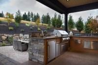 Outdoor Kitchen Ideas - Transitional - Deck/patio