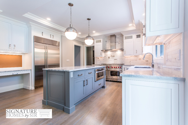 Tray Ceiling in Kitchen  Transitional  Kitchen  Sir
