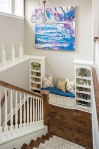Decorating a Staircase Landing - Contemporary - Entrance ...