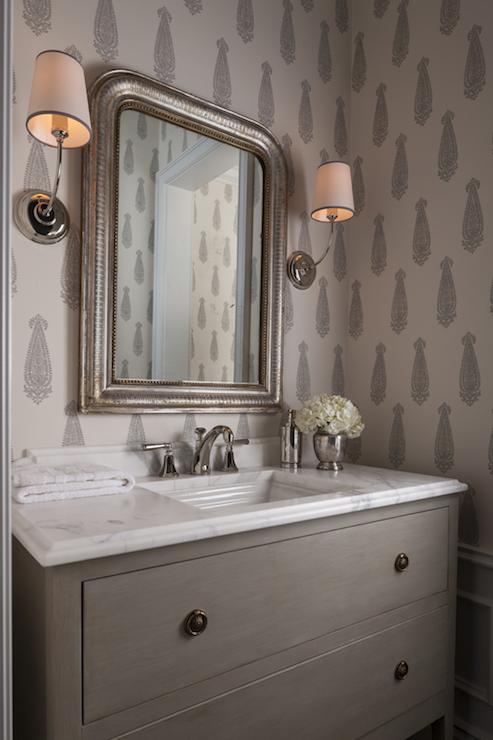 Gray Bathroom Cabinets  Transitional  bathroom  Para