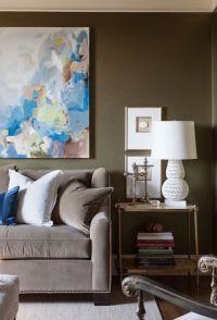 Art above Sofa - Contemporary - living room - David Jimenez