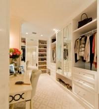 Makeup Vanity in Closet - Transitional - Closet - Sroka Design