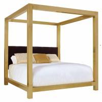 Kensington Brass King Canopy Bed