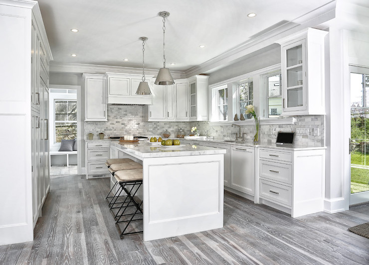 Gray Kitchen Floors