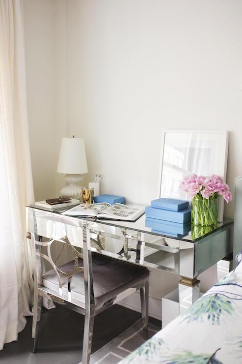 Desk As Nightstand Design Ideas