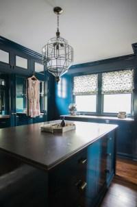 Peacock Blue Built Ins - Closet - Farrow and Ball Hague ...