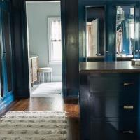 Peacock Blue Paint Colors- Contemporary - bedroom ...