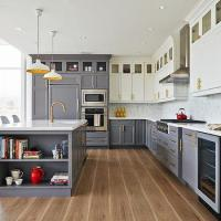 Dropped Kitchen Ceiling - Contemporary - Kitchen