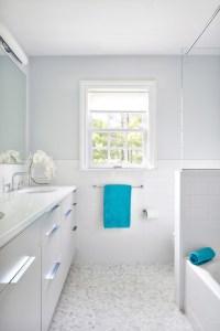 Turquoise And White Bathroom   www.pixshark.com - Images ...