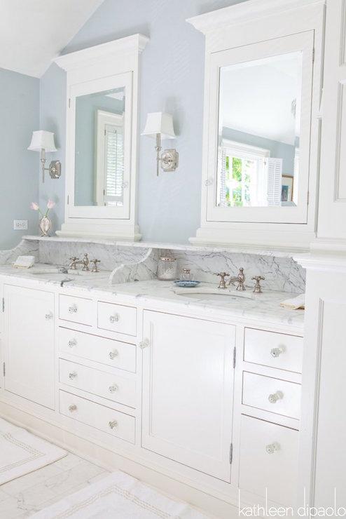 Marble Brick Floor  Traditional  Bathroom  Kathleen