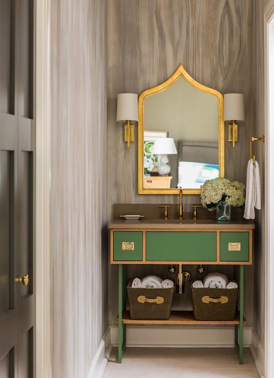 Emerald Green Vanity Design Ideas