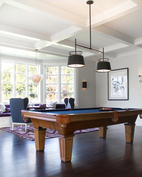 Game Room Pool Table Design Ideas