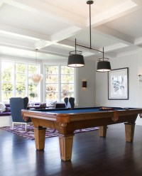 Game Room Pool Table Design Ideas