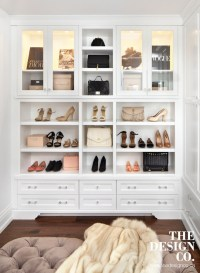 Cabinets for Handbags - Transitional - Closet - The Design ...