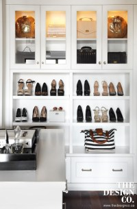 Cabinets to Display Handbags - Transitional - Closet - The ...