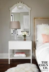 Mirror Over Nightstand - Contemporary - Bedroom - The ...