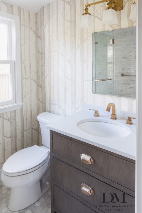 Brushed Brass Bathroom Faucet