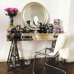 Purple Makeup Vanity Chair Pedicure Stool Uk Ghost Ikea Design Ideas