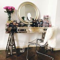 Sawhorse Vanity - Contemporary - Closet