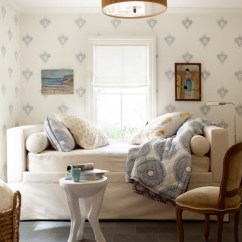 Navy Blue Living Room Chair Design Proportions Cozy Reading - Transitional Den/library/office Ken Linsteadt Architects