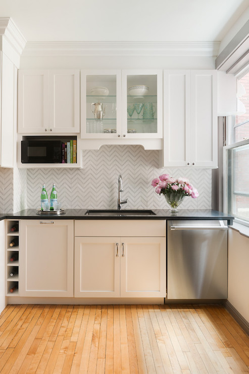 Over The Counter Microwave Design Ideas