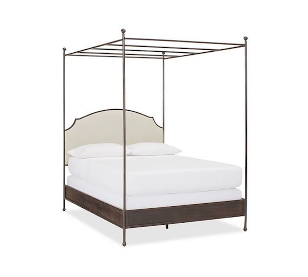 pottery barn aberdeen canopy bed look