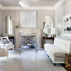 Armless Living Room Chairs Paint Color For Rooms Gray Velvet Sofa - Transitional ...