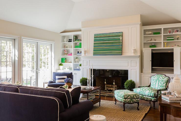 hiding tv in living room big mirrors with hidden transitional elizabeth
