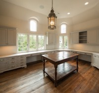 Curved and Angled Kitchen - Transitional - Kitchen