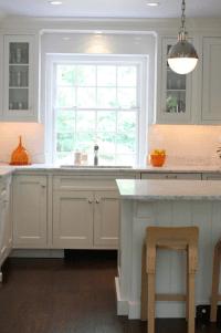 Kitchen with Orange Accents - Transitional - Kitchen ...
