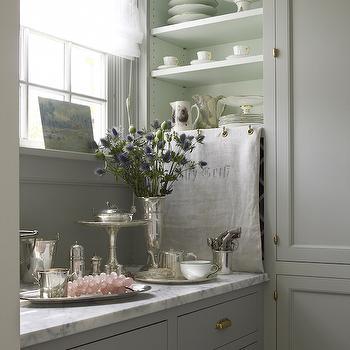 brushed nickel kitchen hardware lighting led under cabinet gray wash cabinets - eclectic har