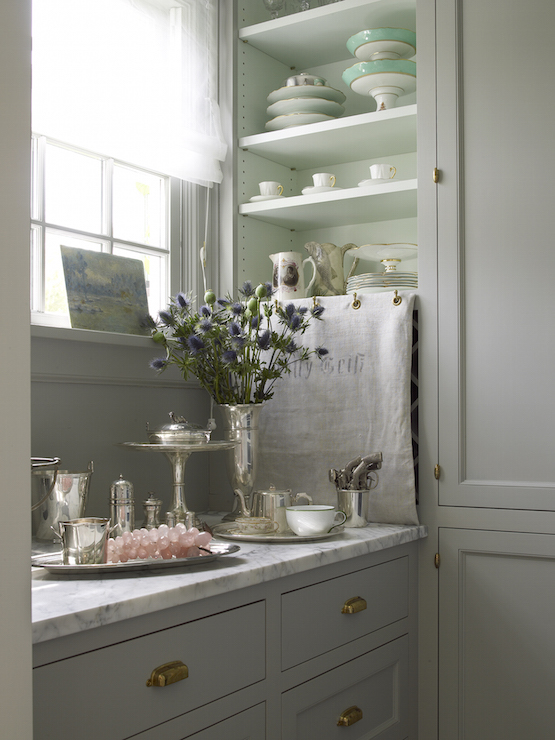 Shabby Chic Pantry  Cottage  Kitchen  John Hummel