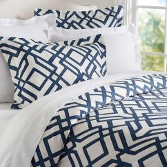 Living Room Media Furniture Best Laminate Flooring For Shelby Geo Blue And White Duvet Sham