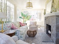 Shabby Chic Sunrooms - Cottage - Living Room
