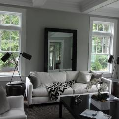 Gray Linen Tufted Sofa Funky Mid Century White Lacquer Coffee Tbale - Cottage Living Room New ...
