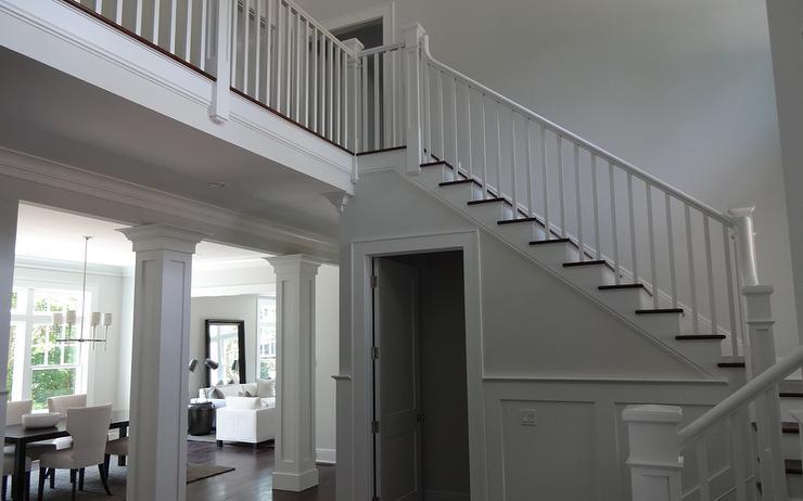 under the stairs door