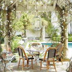 White Wicker Chairs And Table Outdoor Chair Covers Bunnings Glass Top Bistro With French Cafe - Transitional Deck/patio