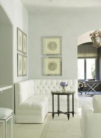 L Shaped Tufted Banquette - Traditional - Living Room