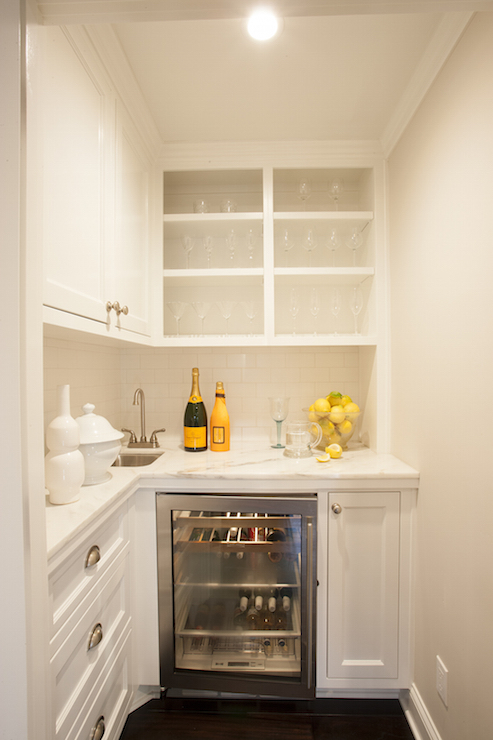 Butlers Pantry  Transitional  kitchen  House Beautiful
