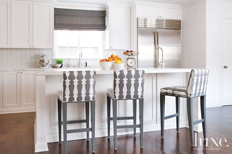 countertop stools kitchen swanstone sinks with gray counter transitional