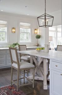 Kitchen Island Dining Table - Transitional - Kitchen