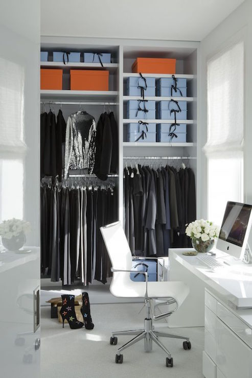 Desk In Closet Design Ideas